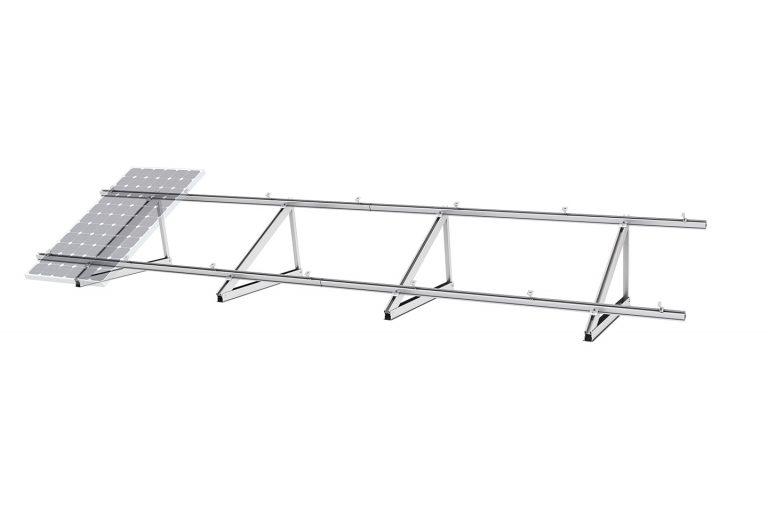 10b PV-ezRack Single Tripod with Panel