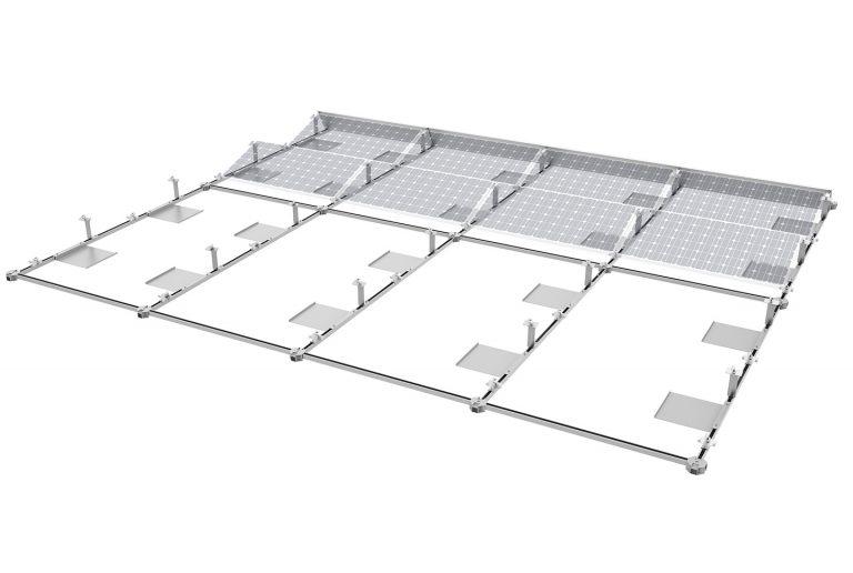 14b PV-ezRack SolarMatrix with Panel