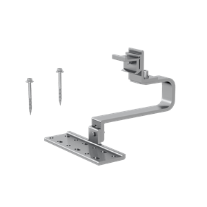 Adjustable Tile Interface ezclick Connection for ECO-Rail, 170 mm Horizontal Arm ER-I-61 EZC ECO