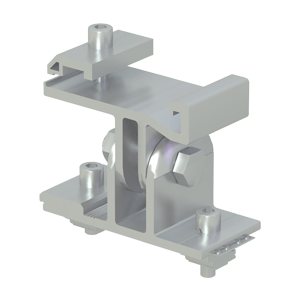 EastWest Adjustable Bracket for T-Rail 110 with Grounding br-r110 ew g