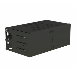IS-SR265 111 B Solar Roof Isolator Shade, 280 158 114mm with Z-Module and bolt, non-assembly (Black Anodized)