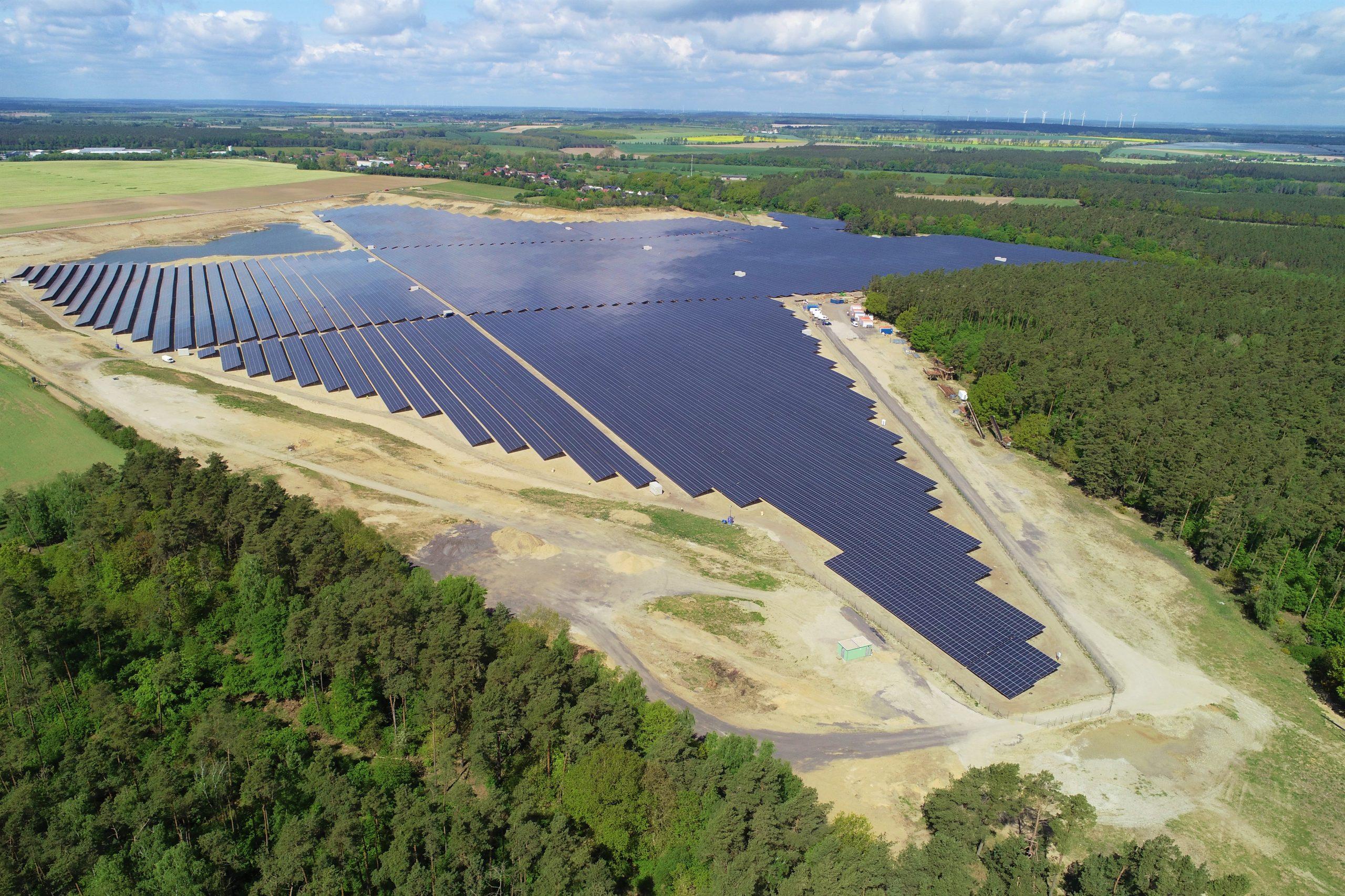 Obton Solar Farm Ganzlin_Clenergy Global Solar Projects
